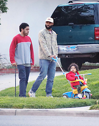 EXCLUSIVE: Meghan Markle Mom Doria Radlan has the family over to Easter dinner,. 01 Apr 2018 Pictured: Donovan Johnson and Joffrey Ragland. Photo credit: APEX / MEGA TheMegaAgency.com +1 888 505 6342