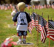Memorial Day services honor fallen veterans of the American military in Tucson, Arizona, USA.