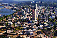 Pearl District (Foreground) & Downtown Portland