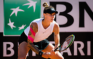 Polona Hercog of Slovenia in action during the first round of the 2021 Internazionali BNL d'Italia, WTA 1000 tennis tournament on May 10, 2021 at Foro Italico in Rome, Italy - Photo Rob Prange / Spain ProSportsImages / DPPI / ProSportsImages / DPPI