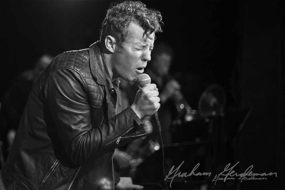 Anderson East performs at The Basement in Nashville, TN.