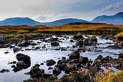 Rannoch Moor, Highlands of Scotland in autumn<br /> <br /> (c) Andrew Wilson | Edinburgh Elite media