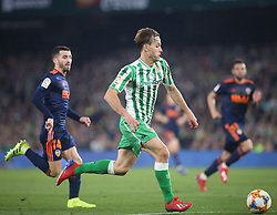 February 7, 2019 - Seville, Spain - SERGIO CANALES MADRAZO  during the Spanish Copa del Rey (King's Cup) semi-final first leg football match between Real Betis and Valencia CF at the Benito Villamarin stadium in Seville on February 7, 2019. (Credit Image: © Raddad Jebarah/NurPhoto via ZUMA Press)
