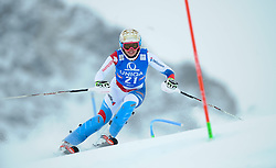29.12.2014, Hohe Mut, Kühtai, AUT, FIS Ski Weltcup, Kühtai, Slalom, Damen, 1. Durchgang, im Bild Michelle Gisin (SUI) // Michelle Gisin of Switzerland in action during 1st run of Ladies Slalom of the Kuehtai FIS Ski Alpine World Cup at the Hohe Mut Course in Kuehtai, Austria on 2014/12/29. EXPA Pictures © 2014, PhotoCredit: EXPA/ Erich Spiess