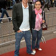 NLD/Amsterdam/20060626 - Premiere Over the Edge, Patrick Martens en partner Denise