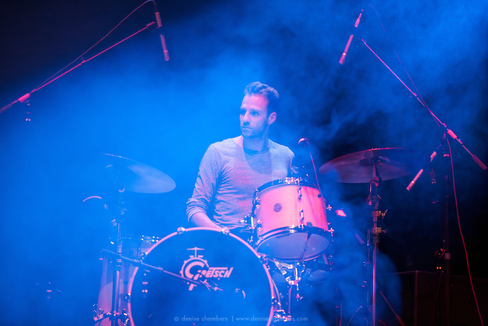 Richard Wouters of Civil Twilight performs on March 24, 2014 at the Pikes Peak Center in Colorado Springs, Colorado