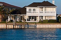 Luxury real estate waterfront property in Florida.