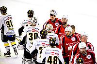 Ishockey , 23. Februar 2014, GET-Liga ,<br /> Lørenskog  - Stavanger Oilers<br /> Lørenskogkeeper og debutant Ole Morten Furuseth etter kampen<br /> Foto: Sjur Stølen , Digitalsport