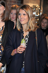 The HON.VIRGINIA FRASER at a party to celebrate the launch of Carol Woolton's book 'Drawing Jewels For Fashion' held at Asprey, 167 New Bond Street, London W1 on 10th November 2011.