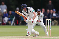 Dominic Sibley of Warwickshire batting during the Specsavers County Champ Div 1 match between Yorkshire County Cricket Club and Warwickshire County Cricket Club at York Cricket Club, York, United Kingdom on 18 June 2019.