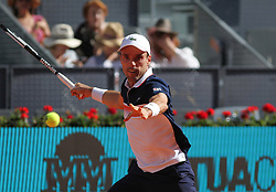 May 7, 2019 - Madrid, MADRID, SPAIN - Roberto Bautista (ESP) during the Mutua Madrid Open 2019 (ATP Masters 1000 and WTA Premier) tenis tournament at Caja Magica in Madrid, Spain, on May 07, 2019., 2019. (Credit Image: © AFP7 via ZUMA Wire)