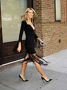 Sept. 10, 2014 - New York City, NY, United States - <br /> <br /> Heidi Klum looking sexy in black dress<br /> <br /> TV personality Heidi Klum leaves a downtown hotel on her way to 'America's Got Talent' on September 10 2014 in New York City<br /> ©Exclusivepix