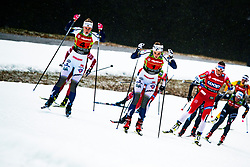 Stina Nilsson (SWE), Maja Dahlqvist (SWE) during Ladies team sprint race at FIS Cross Country World Cup Planica 2019, on December 22, 2019 at Planica, Slovenia. Photo By Peter Podobnik / Sportida