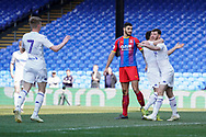 Goal, Ryan Edmondson of Leeds United U23 scores, Crystal Palace U23 0-1 Leeds United U23 during the U23 Professional Development League match between U23 Crystal Palace and Leeds United at Selhurst Park, London, England on 15 April 2019.