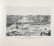 """COLUMBIA, SC. This View was taken from the Capitol Building, on the Entrance of General Sherman's Army, Showing the terrible ruin and havoc caused by the War. from The American Civil War book and Grant album : """"art immortelles"""" : a portfolio of half-tone reproductions from rare and costly photographs designed to perpetuate the memory of General Ulysses S. Grant, depicting scenes and incidents in connection with the Civil War Published  in Boston and New York by W. H. Allen in 1894"""