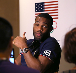 March 10, 2016 - Los Angeles, California, Russia - USA Wrestlings' Jordan Burroughs during the ''Team USA Media Summit'' held in Beverly Hills, 2016. Day 3 (Credit Image: © Daniel A. Anderson/ZUMA Wire)