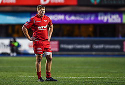 Scarlets' James Davies - Mandatory by-line: Craig Thomas/Replay images - 31/12/2017 - RUGBY - Cardiff Arms Park - Cardiff , Wales - Blues v Scarlets - Guinness Pro 14