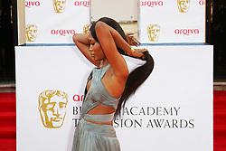 © Licensed to London News Pictures. 18/05/2014, UK. Naomi Campbell, Arqiva British Academy Television Awards - BAFTA, Theatre Royal Drury Lane, London UK, 18 May 2014. Photo credit : Richard Goldschmidt/Piqtured/LNP