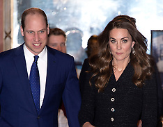 Duke and Duchess of Cambridge attend a Charity Theatre Performance - 25 Feb 2020