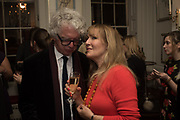 The launch of Fire Child by Sally Emerson. Hosted by Sally Emerson and Naim Attalah CBE. Dean St. London. 22 March 2017