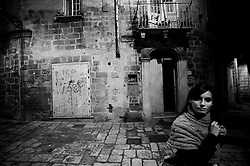 Taranto 11 ottobre 2011.Visita notturna nella città vecchia..Apulia Film Commission.III edizione del workshop di scrittura internazionale AAW PugliaExperience