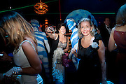 Grey Goose character and cocktails. The Elton John Aids Foundation Winter Ball. off Nine Elms Lane. London SW8. 30 October 2010. -DO NOT ARCHIVE-© Copyright Photograph by Dafydd Jones. 248 Clapham Rd. London SW9 0PZ. Tel 0207 820 0771. www.dafjones.com.