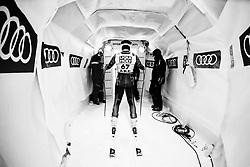 February 8, 2019 - ƒâ€¦Re, SWEDEN - 190208 Filip Platter of Sweden at a men's downhill training session during the FIS Alpine World Ski Championships on February 8, 2019 in Ã…re..Photo: Joel Marklund / BILDBYRÃ…N / kod JM / 87852 (Credit Image: © Joel Marklund/Bildbyran via ZUMA Press)