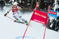 Andrea Filser (GER) during the Ladies' Giant Slalom at 57th Golden Fox event at Audi FIS Ski World Cup 2020/21, on January 16, 2021 in Podkoren, Kranjska Gora, Slovenia. Photo by Vid Ponikvar