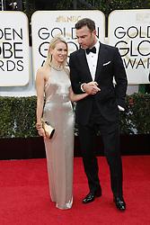 Naomi Watts und Liev Schreiber bei den 71st Golden Globe Awards im Beverly Hilton Hotel in Beverly Hills / 120114<br /> <br /> ***71st Golden Globe Awards held at the Beverly Hilton Hotel in Beverly Hills. Los Angeles, California on January 12, 2014***