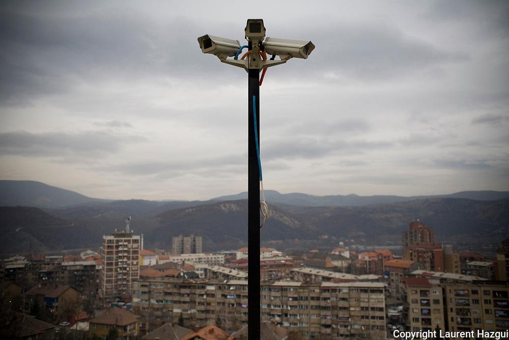 "08122007. Mitrovica Nord. ""L'oeil de Belgrade""."