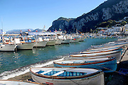 Marina Grande, Capri, Campania, Italy