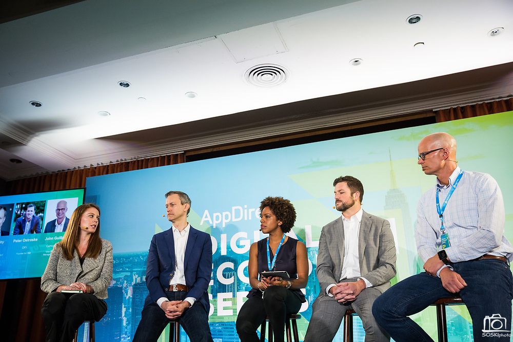 AppDirect host their Digital Economy Series at the Parker Hotel in New York City, New York, on May 8, 2018. (Stan Olszewski/SOSKIphoto for Patina Pictures)