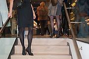 Smythson Sloane St. Store opening. London. 6 February 2012.