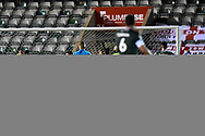 Goal - Luke Jephcott (31) of Plymouth Argyle scores a goal to make the score 2-1 during the EFL Sky Bet League 2 match between Plymouth Argyle and Crawley Town at Home Park, Plymouth, England on 28 January 2020.