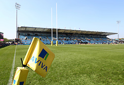 A general view of Sandy Park - Mandatory by-line: Gary Day/JMP - 08/04/2017 - RUGBY - Sandy Park Stadium - Exeter, England - Exeter Chiefs v Bristol Rugby - Aviva Premiership
