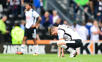 Derby County's Alex Pearce looks dejected at the end of the game<br /> <br /> Photographer Chris Vaughan/CameraSport<br /> <br /> The EFL Sky Bet Championship - Derby County v Blackburn Rovers  - Saturday 24th September 2016 - iPro Stadium - Derby<br /> <br /> World Copyright © 2016 CameraSport. All rights reserved. 43 Linden Ave. Countesthorpe. Leicester. England. LE8 5PG - Tel: +44 (0) 116 277 4147 - admin@camerasport.com - www.camerasport.com