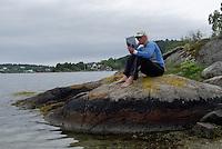 Reading Padelguide for Aust-Agder at Fårholmen