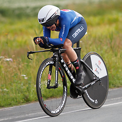 KNOKKE HEIST (BEL) July 10 CYCLING: <br /> 3th Stage Baloise Belgium tour Time Trial: Letizia Paternoster