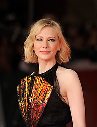 Cate Blanchett during the red carpet for Bad Times at The El Royale premiere at the Rome Film Fest on October 19, 2018