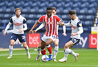 Preston North End's Sean Maguire battles with Stoke City's Mikel John Obi<br /> <br /> Photographer Dave Howarth/CameraSport<br /> <br /> The EFL Sky Bet Championship - Preston North End v Stoke City - Saturday 26th September 2020 - Deepdale - Preston <br /> <br /> World Copyright © 2020 CameraSport. All rights reserved. 43 Linden Ave. Countesthorpe. Leicester. England. LE8 5PG - Tel: +44 (0) 116 277 4147 - admin@camerasport.com - www.camerasport.com