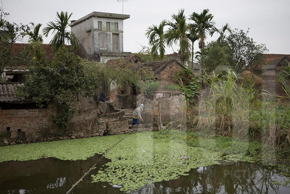 Xuan Lai, a craft village close to Hanoi, Vietnam, Southeast Asia