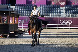 Fairchild Alexa, BEL, Dabanos D'O4<br /> Olympic Games Tokyo 2021<br /> © Hippo Foto - Dirk Caremans<br /> 18/07/2021