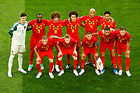 SAINT PETERSBURG, RUSSIA - JULY 10: Belgium national team players pose for a photo during the 2018 FIFA World Cup Russia Semi Final match between France and Belgium at Saint Petersburg Stadium on July 10, 2018 in Saint Petersburg, Russia. MB Media
