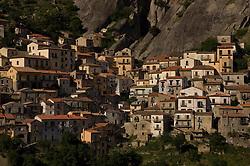Castelmezzano, Basilicata, Italy - The town with the Lucan Dolomites