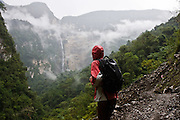 Chachapoyas, Peru - With two drops totaling about 700 meters. Gocta waterfall - located in Chachapoyas in the Northern part of Peru is generally though of as one of the top ten waterfalls in the world.