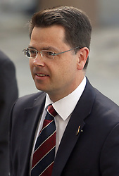 Northern Ireland Secretary James Brokenshire attends a service to commemorate National Police Memorial Day at St Paul's Cathedral in central London.