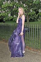 LONDON - JUNE 26: Jade Parfit attended the Serpentine Gallery summer party, Kensington Gardens, London, UK. June 26, 2012. (Photo by Richard Goldschmidt)
