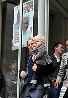 Christian Poulsen<br /> Visita dei giocatori della Juventus all Sacra Sindone a Torino<br /> Torino, 27/04/2010<br /> © Giorgio Perottino / Insidefoto