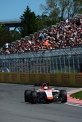 06.06.2015, Circuit Gilles Villeneuve, Montreal, CAN, FIA, Formel 1, Grand Prix von Kanada, Qualifying, im Bild Will Stevens (GBR) Manor F1 // during Qualifyings of the Canadian Formula One Grand Prix at the Circuit Gilles Villeneuve in Montreal, Canada on 2015/06/06. EXPA Pictures © 2015, PhotoCredit: EXPA/ Sutton Images/ Patrick Vinet<br /> <br /> *****ATTENTION - for AUT, SLO, CRO, SRB, BIH, MAZ only*****