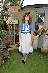 OPHELIA LOVIBOND at a vintage fashion pop-up evening hosted by Dawn O'Porter at The Gardening Society, John Lewis, Oxford Street on 27th July 2016.